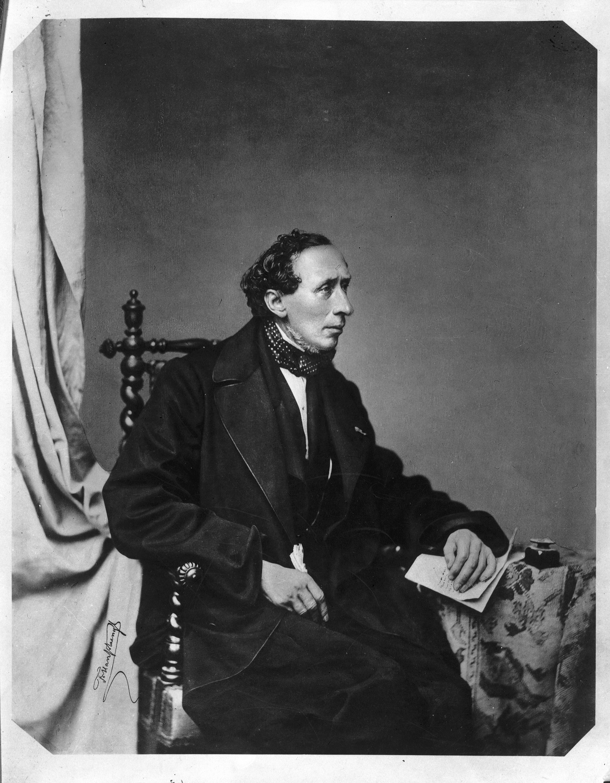 On The Correspondance Between Hans Christian Andersen And The