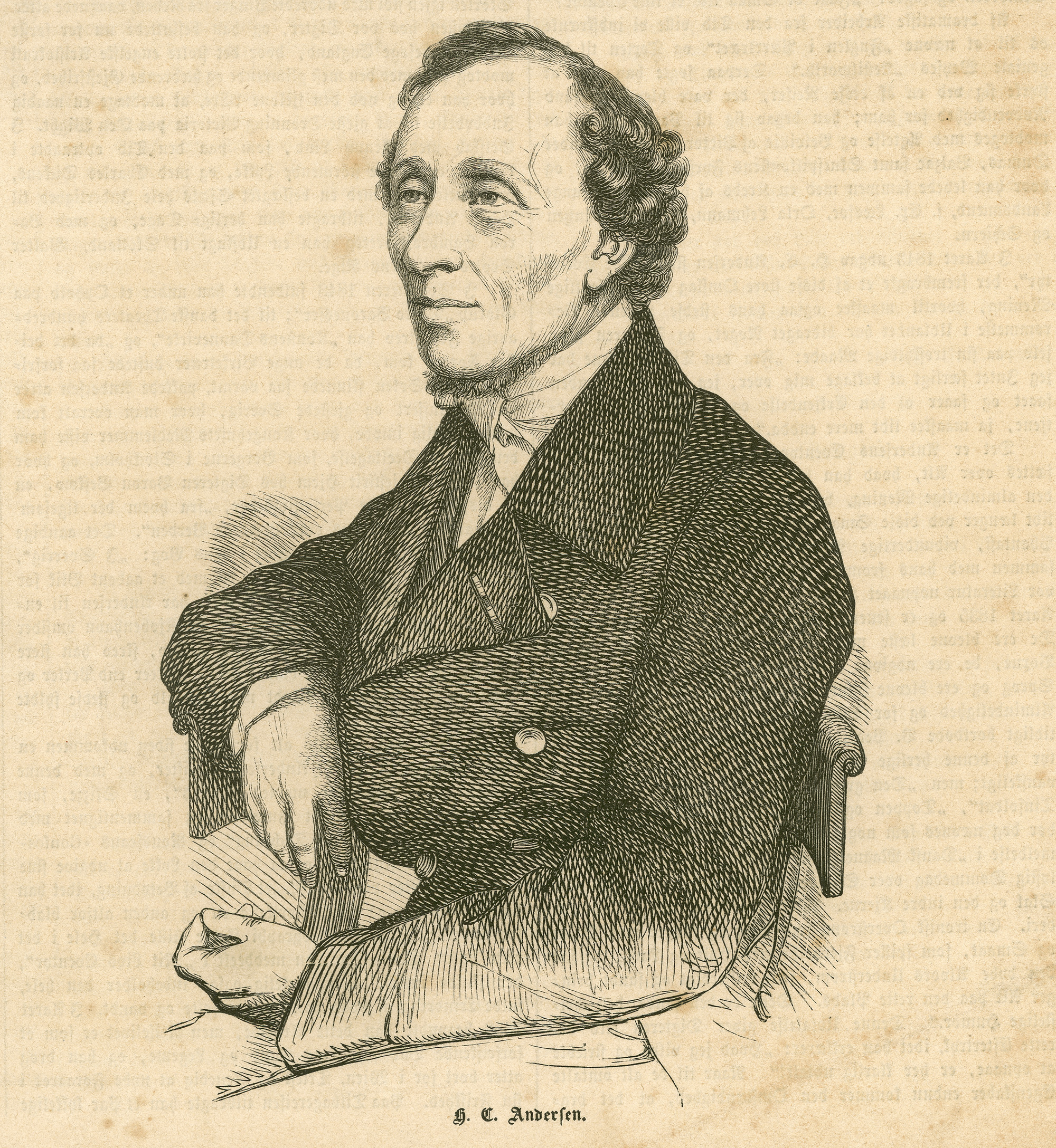 hans christian andersen biography