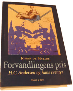 "Trial print of the jacket for Johan de Mylius coming book: ""The price of transformation"""